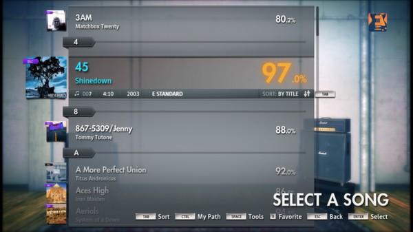 "Скриншот №5 к Rocksmith® 2014 – Shinedown - ""45"""