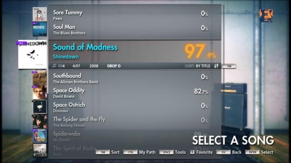 "Скриншот №1 к Rocksmith® 2014 – Shinedown - ""Sound of Madness"""