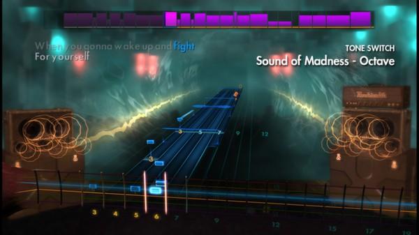 "Скриншот №2 к Rocksmith® 2014 – Shinedown - ""Sound of Madness"""