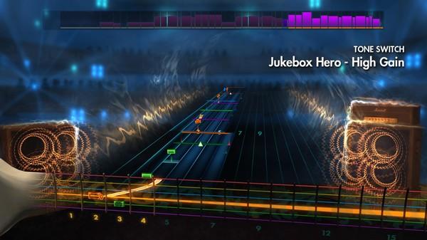"Скриншот №1 к Rocksmith® 2014 – Foreigner - ""Juke Box Hero"""