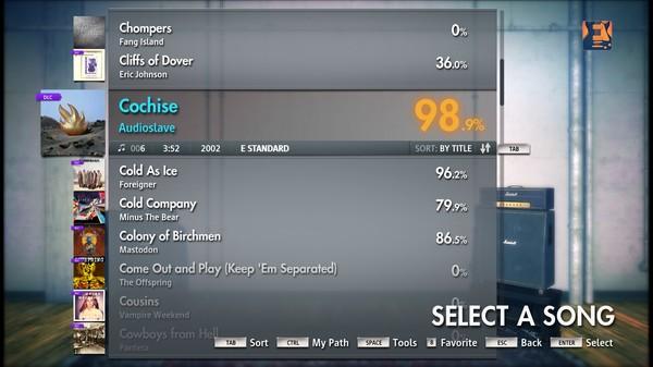 "Скриншот №1 к Rocksmith® 2014 – Audioslave - ""Cochise"""
