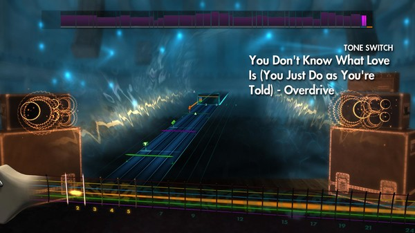 "Скриншот №1 к Rocksmith® 2014 – The White Stripes - ""You Dont Know What Love Is You Just Do As Youre Told"""