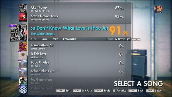 "Скриншот №3 к Rocksmith® 2014 – The White Stripes - ""You Dont Know What Love Is You Just Do As Youre Told"""