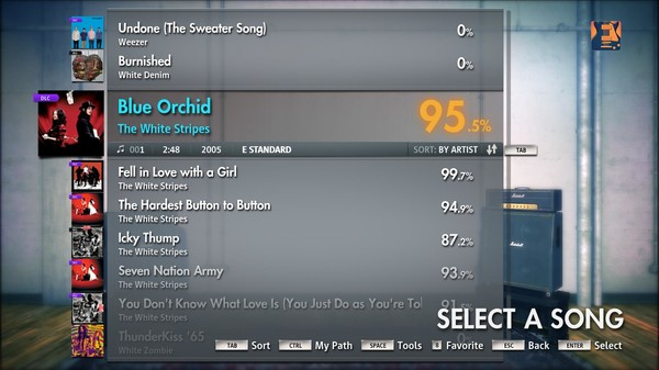 "Скриншот №5 к Rocksmith® 2014 – The White Stripes - ""Blue Orchid"""