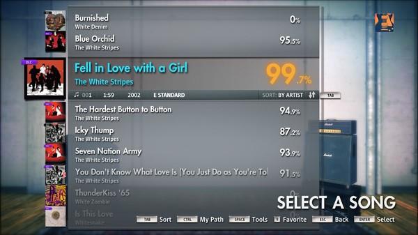 Скриншот №3 к Rocksmith® 2014 – The White Stripes Song Pack