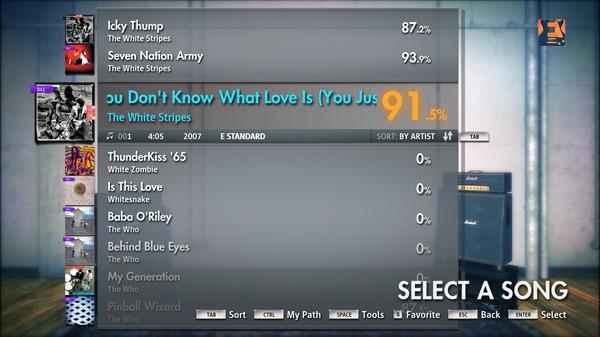 Скриншот №11 к Rocksmith® 2014 – The White Stripes Song Pack
