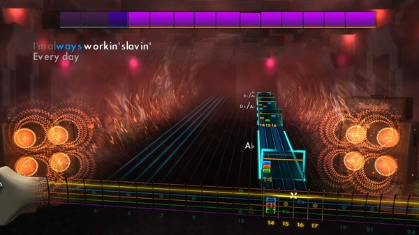 "Скриншот №4 к Rocksmith® 2014 – Poison - ""Nothin But A Good Time"""