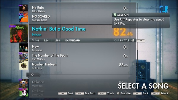 "Скриншот №2 к Rocksmith® 2014 – Poison - ""Nothin But A Good Time"""