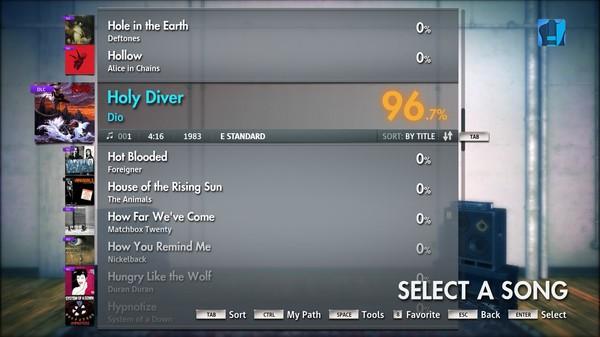 "Скриншот №1 к Rocksmith® 2014 – Dio - ""Holy Diver"""