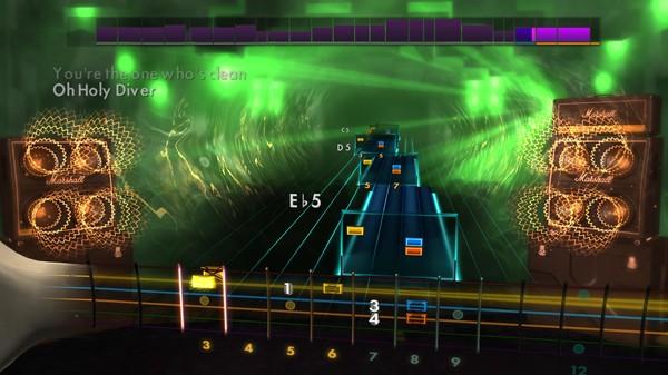 "Скриншот №3 к Rocksmith® 2014 – Dio - ""Holy Diver"""