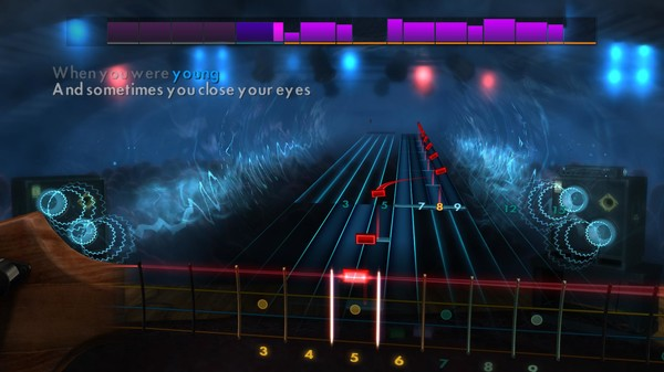 """Скриншот №1 к Rocksmith® 2014 – The Killers - """"When You Were Young"""""""