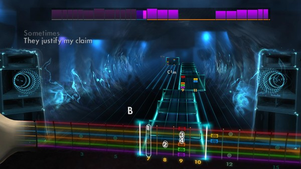 Скриншот №4 к Rocksmith® 2014 – The Killers Song Pack