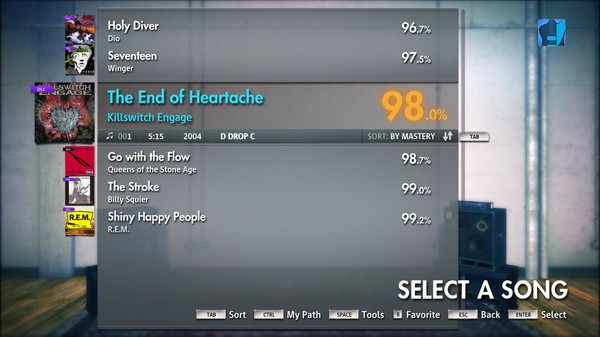 "Скриншот №5 к Rocksmith® 2014 – Killswitch Engage - ""The End Of Heartache"""