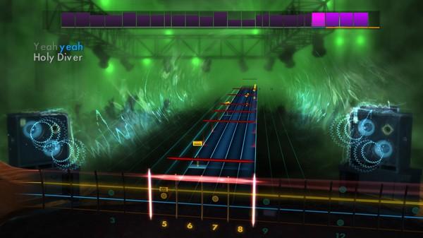 "Скриншот №5 к Rocksmith® 2014 – Killswitch Engage - ""Holy Diver"""