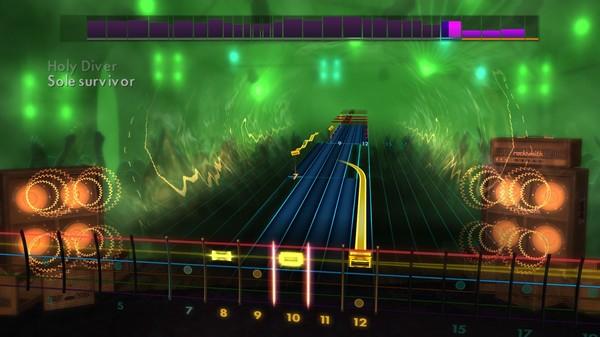 "Скриншот №1 к Rocksmith® 2014 – Killswitch Engage - ""Holy Diver"""