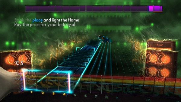 Скриншот №4 к Rocksmith® 2014 – Bullet For My Valentine Song Pack