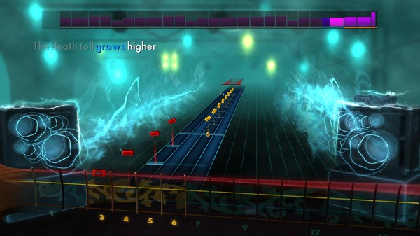 Скриншот №1 к Rocksmith® 2014 – Bullet For My Valentine Song Pack