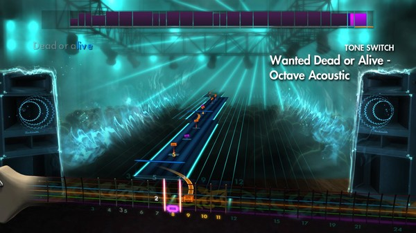 "Скриншот №2 к Rocksmith® 2014 – Bon Jovi - ""Wanted Dead Or Alive"""