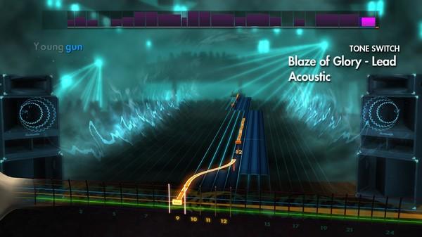 "Скриншот №2 к Rocksmith® 2014 – Bon Jovi - ""Blaze Of Glory"""