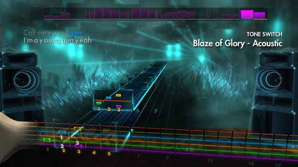 "Скриншот №4 к Rocksmith® 2014 – Bon Jovi - ""Blaze Of Glory"""