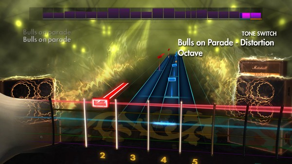 "Скриншот №2 к Rocksmith® 2014 – Rage Against the Machine - ""Bulls on Parade"""