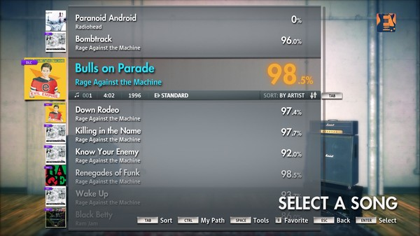 "Скриншот №5 к Rocksmith® 2014 – Rage Against the Machine - ""Bulls on Parade"""