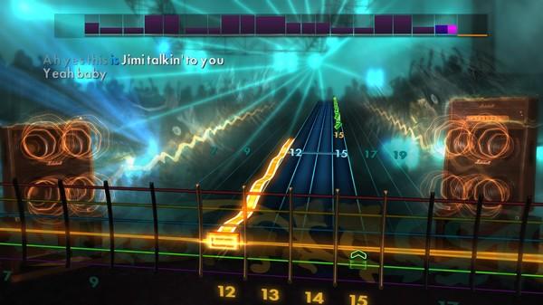 Скриншот №4 к Rocksmith® 2014 – Jimi Hendrix Song Pack III