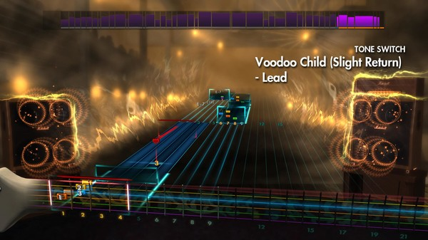 "Скриншот №1 к Rocksmith® 2014 – Jimi Hendrix - ""Voodoo Child Slight Return"""