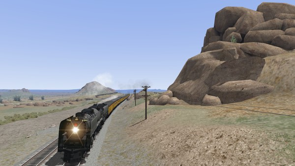 скриншот Union Pacific FEF-3 Overland Add-On Livery 4