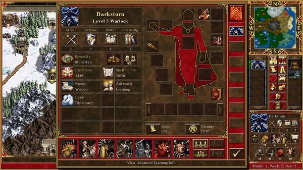 Скриншот №13 к Heroes® of Might  Magic® III - HD Edition