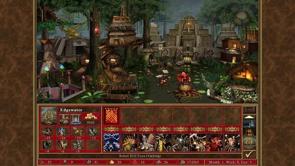 Скриншот №1 к Heroes® of Might  Magic® III - HD Edition