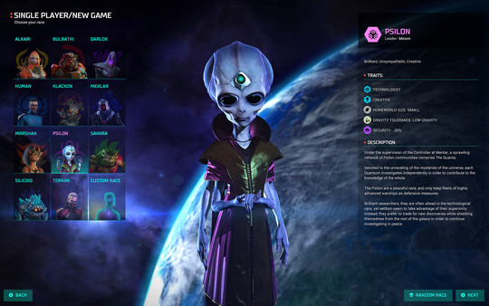 Скриншот №2 к Master of Orion