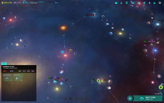 Скриншот №4 к Master of Orion