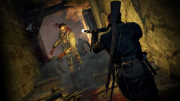 Zombie Army Trilogy скриншот