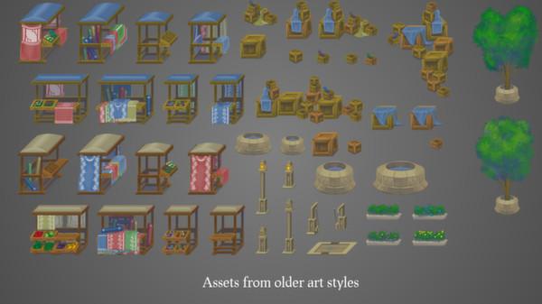 скриншот Unrest Art & Extras 0