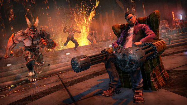 Скриншот №2 к Saints Row Gat out of Hell