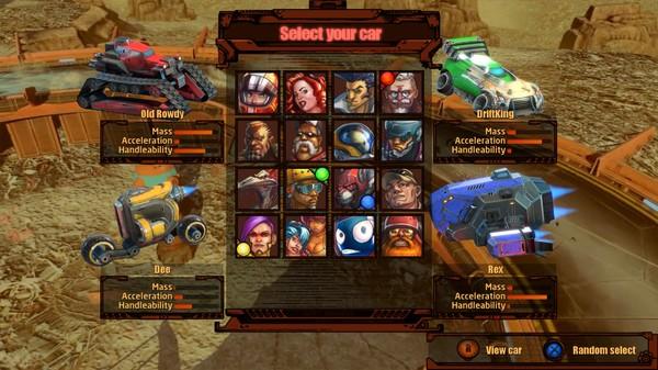Скриншот №9 к BlazeRush