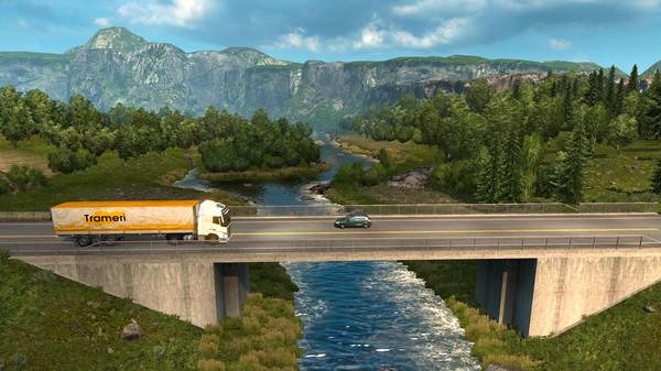 Euro Truck Simulator 2 Scandinavia PC Free Download