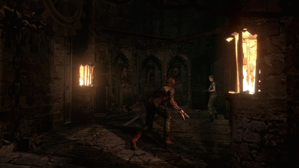 Resident Evil HD Remaster скриншот