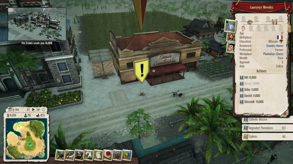 Скриншот №4 к Tropico 5 - Inquisition