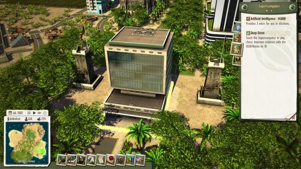 Скриншот №4 к Tropico 5 - The Supercomputer