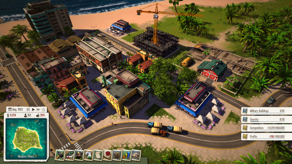 Скриншот №4 к Tropico 5 - Joint Venture