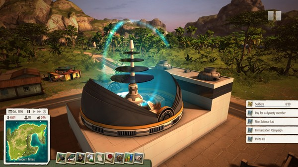 Скриншот №1 к Tropico 5 - Supervillain