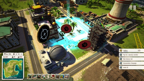 Скриншот №2 к Tropico 5 - Supervillain
