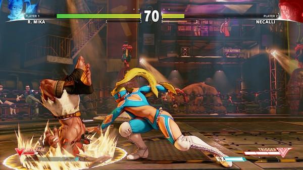 Скриншот №42 к Street Fighter V