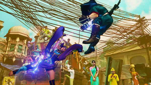 Street Fighter V скриншот