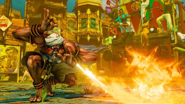 Скриншот №27 к Street Fighter V
