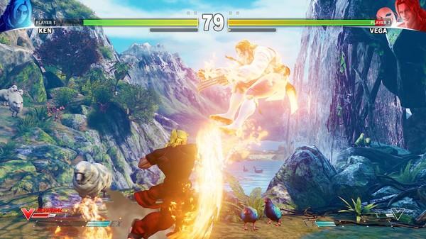 Скриншот №40 к Street Fighter V