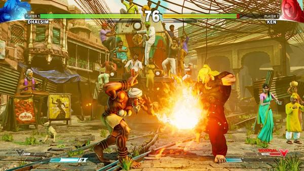 Скриншот №41 к Street Fighter V