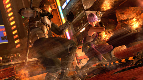 Скриншот №6 к DEAD OR ALIVE 5 Last Round Core Fighters